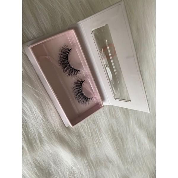 25MM Lashes 3D Mink Lashes Reusable Dramatic 25MM Mink Eyelash Cruelty Free Mink False Eyelash Cotton Band Mink
