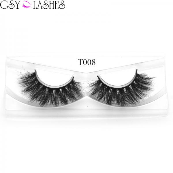 Mink Eyelashes 18mm Daily look for makeup, Natural Layered Effect Reusable Hand Made Strips Eyelashes 100% Siberian Mink 1 Pair