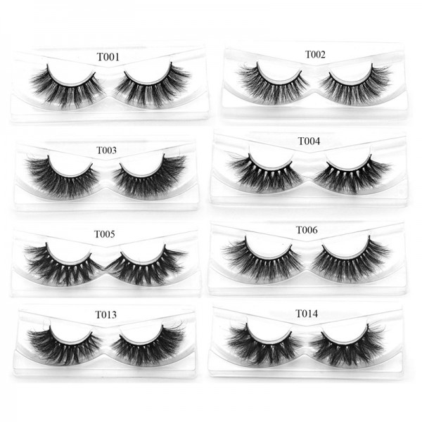 GSY High Volume Mink Lashes Cruelty-free 3D Mink Eyelashes False Eyelashes