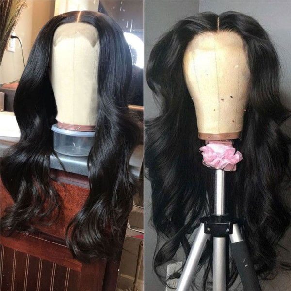 body wave wigs human hair short medium and long length lace frontal wigs