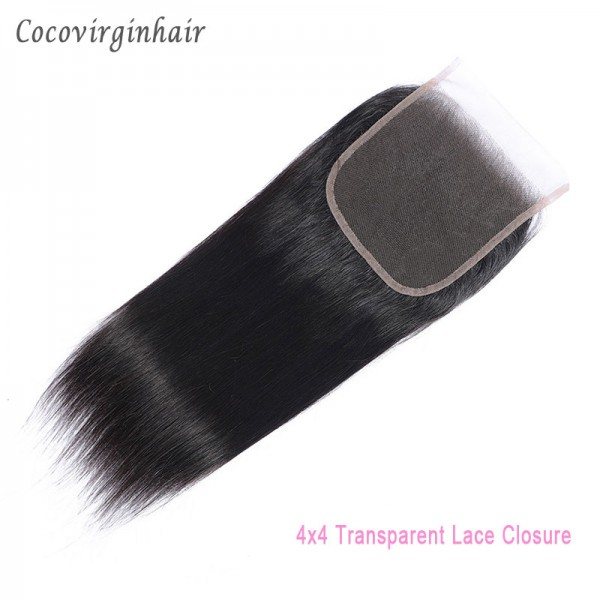 4x4 5x5 13x4 13x6 Swiss Transparent/Hd Lace Closure And Frontal