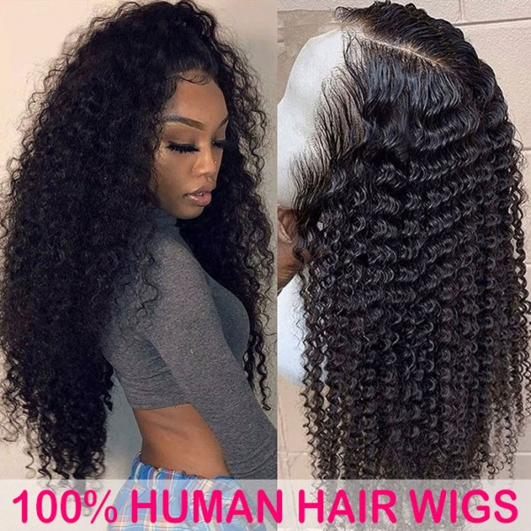 deep wave lace frontal wig raw human hair vendor natural black lace wigs for black women