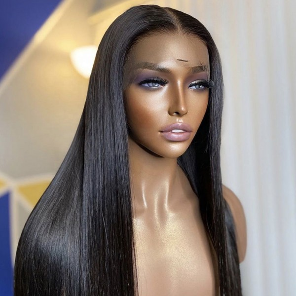 Straight Transparent Lace Front Wigs 14inch-30inch