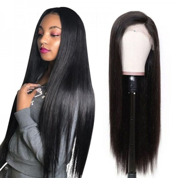 13x4 Straight Lace Front Human Hair Wigs Lace Frontal Wigs Remy Brazilian Human Hair Lace Wigs for Women 150 Density