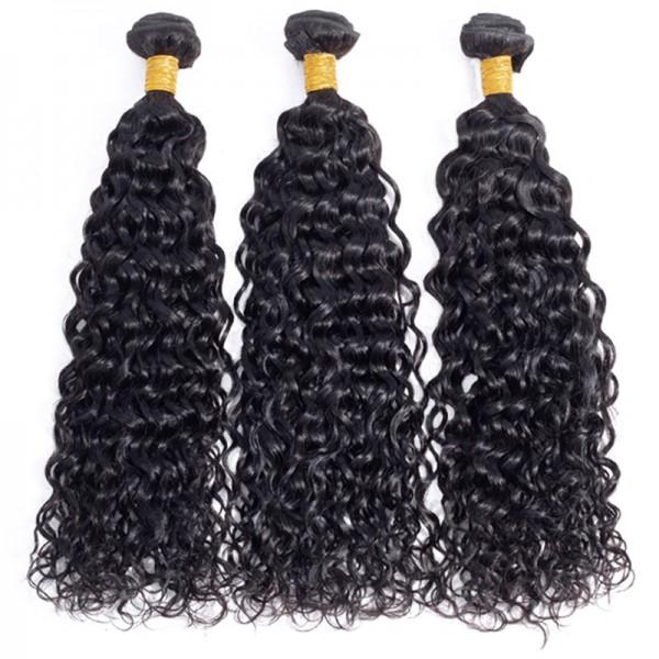 Water Wave Wholesale 10A Hair Extensions 100% Human Hair Wuman Hair Bundles