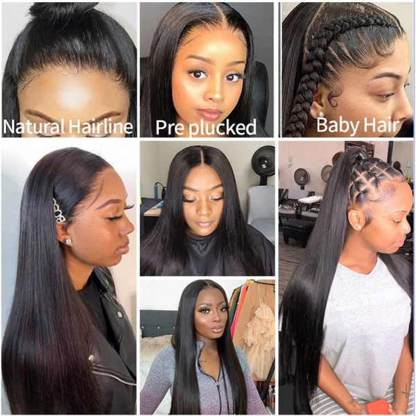 water wave 20inch 22inch 24inch 26inch 28inch 30inch lace front wigs human hair for sale