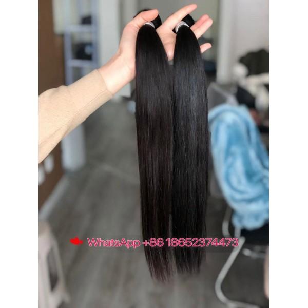 Straight Body Wave Bundles 100% Human Hair Extension Cuticle Aligned Raw Brazilian Human Hair Wholesale