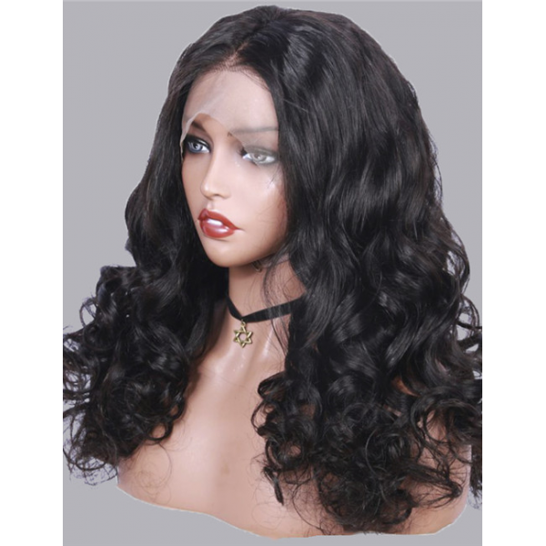 Loose Wave Soft Lace 13x4 Lace Front Wig Human Hair Wigs Pre-Plucked Loose Wave Brazilian Virgin Hair