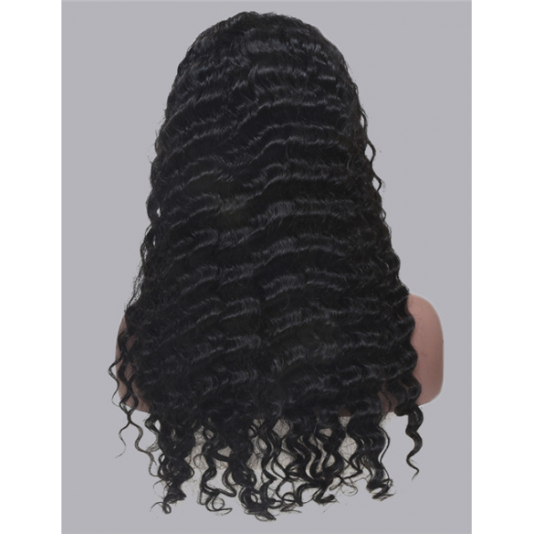 lace frontal wig 30 inch deep wave preplucked with baby hair human wigs for black women lace front